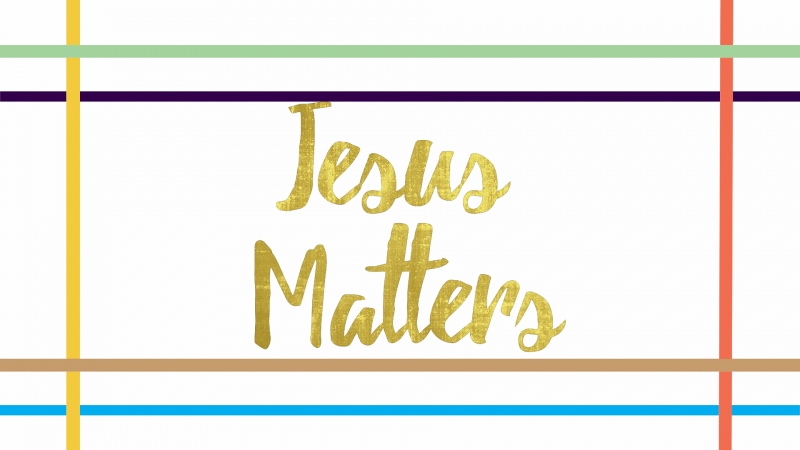Jesus Matters: In Our Grief