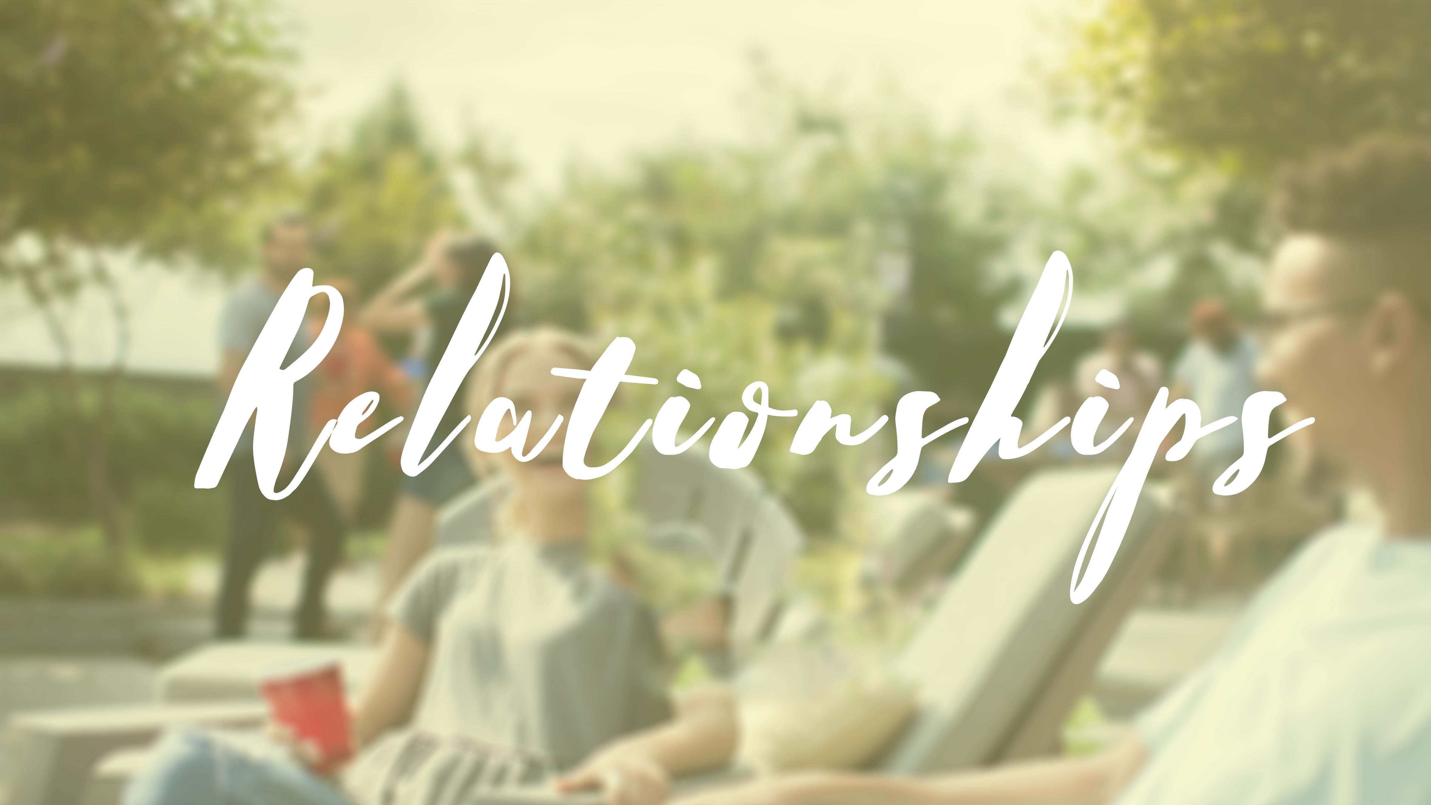 A Relationship to Remember